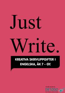 omslag Just Write